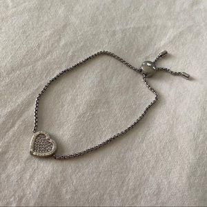 Michael Kors Crystal Heart bracelet